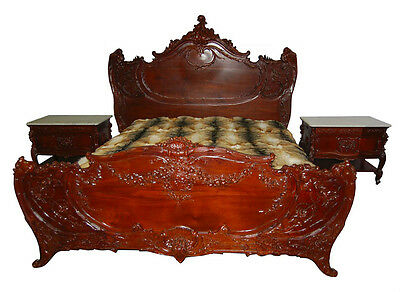 French Rococo Revival Bedroom Set, c. 1875 #6924
