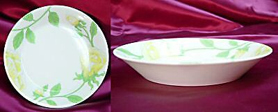 Fitz and Floyd Yellow Rose Accent Plate / Candy Dish
