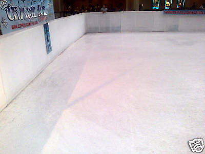 EZ Glide 350. Used Synthetic Ice skating panels. Rental