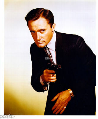 Man From Uncle Robert Vaughn As Solo Great Photo