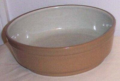 Trinidad by Stangl Gray & Brown Round Vegetable Bowl