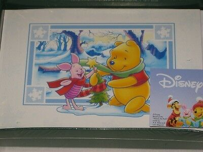 Disney Winnie the Pooh & Piglet Christmas Cards NEW