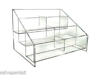 1 Clear Counter Hosiery Store Display NEW