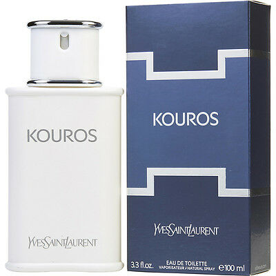 YSL KOUROS 100ml EDT SPRAY FOR MEN BY YVES SAINT LAURENT ----------- NEW PERFUME
