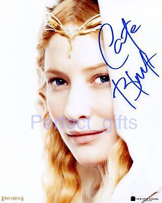 Cate Blanchett Signed Photo Re-Print Rings #121