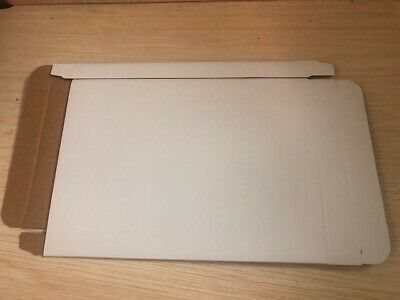 100 White Corrugated Cardboard Dvd Case Mailer Box Js86