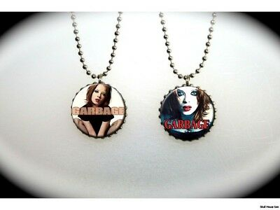 GARBAGE - 2 sided necklace - Shirley Manson