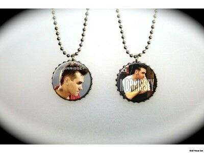 MORRISSEY -  2 sided necklace - the smiths