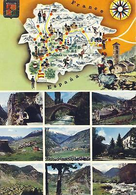 Carte Postale Andorre Panorama Divers Vues