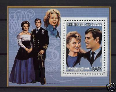 Guinea 1986 Royal Wedding MNH M/S