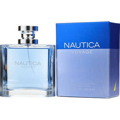 NAUTICA VOYAGE 100ml EDT SPRAY FOR MEN BY NAUTICA ------------------ NEW PERFUME