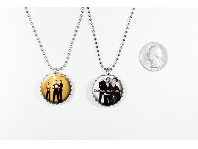 DEPECHE MODE -  2 sided necklace