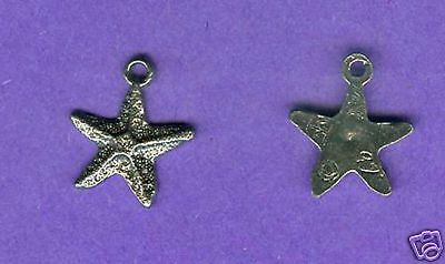 100 wholesale lead free pewter starfish charms 1080