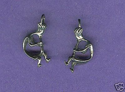 100 wholesale lead free pewter kokopelli charms 1056