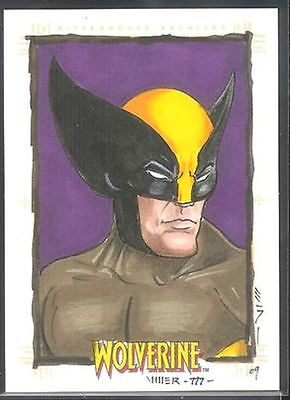 X-Men Origins Wolverine Sketch Card Steven Miller v11