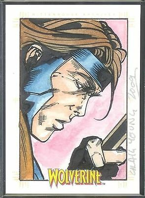 X-Men Origins Wolverine Sketch Card Craig Yeung v5