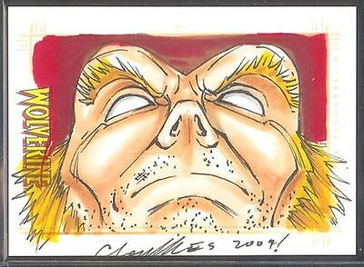 X-Men Origins Wolverine Sketch Card Chris Foulkes v1