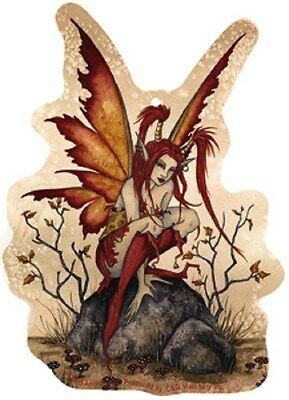 Amy Brown Air Freshener Little Red Mischief Fairy  Faery Car Fragrance