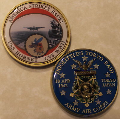 Doolittle Raid Army Air Force Navy Challenge Coin        C _St