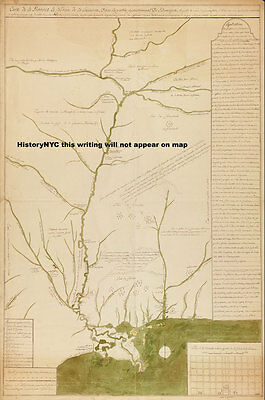 1735 MISSISSIPPI RIVER ILLINOIS TO GULF MEXICO MAP