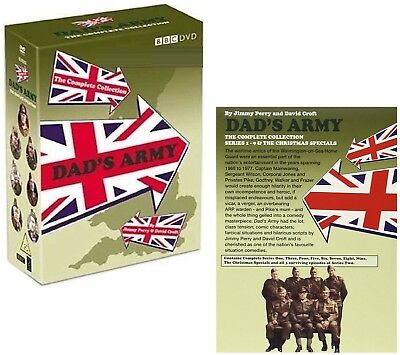DAD'S ARMY (1968-1977) - COMPLETE CLASSIC COMEDY TV Seasons Series - NEW DVD UK