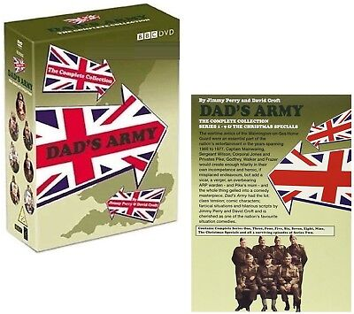 DAD'S ARMY (1968-1977) - COMPLETE CLASSIC TV COMEDY Seasons Series - NEW R2 DVD