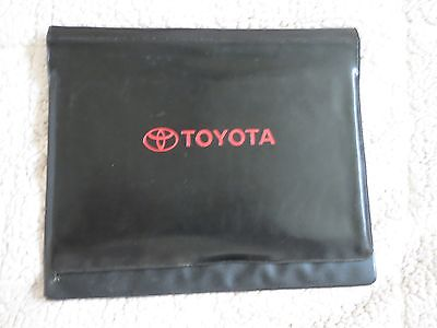 2001 2002 2003 2004 Toyota Tundra Camry Celica Corolla Prius Owners Manual Case