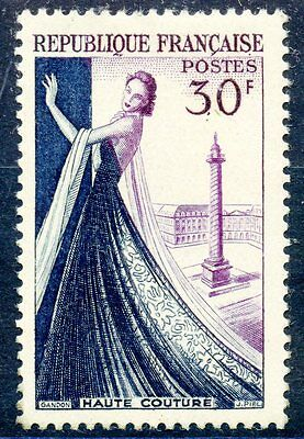 Timbre France Neuf N° 941 ** Haute Couture Parisienne