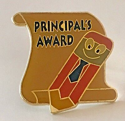 """PRINCIPAL'S AWARD"" Enamel Lapel Pins/25/New in bags!"