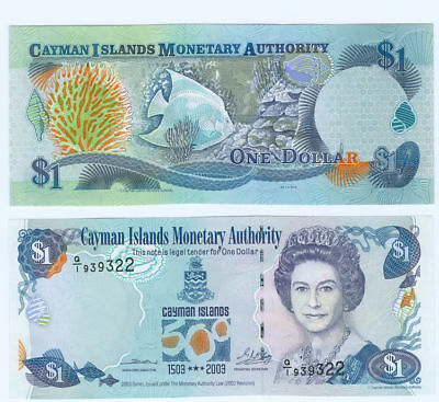 Cayman Islands  1 Dollar 2003  kassenfrisch  Pick 30
