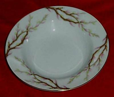 Spring Willow by Kent Brown Branches Rimmed Soup Bowl