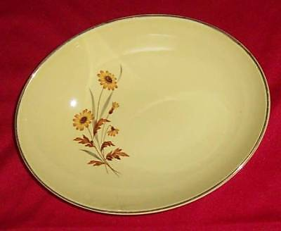 TST90 by Taylor Smith Taylor Yellow Oval Vegetable Bowl