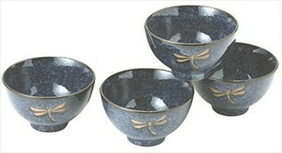 Japanese Dragonfly Porcelain Rice Bowl Gift Set BH82/N S-2410