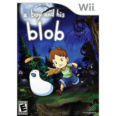 *NEW* WII A BOY AND HIS BLOB NINTENDO *SEALED*