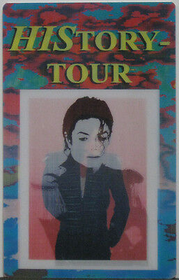 MICHAEL JACKSON HIStory Tour Special Seating Pass 3D #2