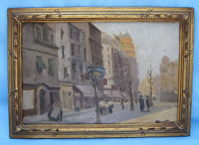 A Gorgeous 19th Century French Fine Oil on Canvas Signed Painting