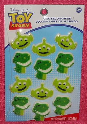 Toy Story Edible Sugar Icing Cupcake Toppers,Wilton,Decorations,Pk.,12,710-8080,