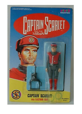 Captain Scarlet : Captain Scarlet Carded Action Figure Made In 1993