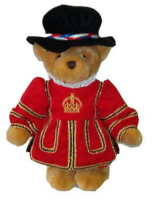 LINDON JOINTED BEAR 40cm TALL TOWER OF LONDON BEEFEATER RRP £55 ON OFFER AT £40
