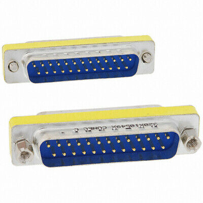 Serial Gender Changer 25 pin Male to 25pin Male Adapter