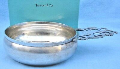 Tiffany & Co Sterling Silver Old  Baby Dish After Paul Revere    FINE & RARE