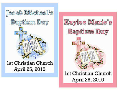 15 Baptism Christening Magnets Party Favors
