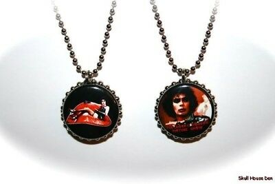 THE ROCKY HORROR PICTURE SHOW -  2 sided necklace
