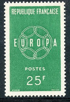 Stamp / Timbre France Neuf N° 1218 ** Europa 1959