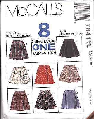 7676 Vintage McCalls SEWING Pattern Girls Tops /& Shorts UNCUT OOP SEW