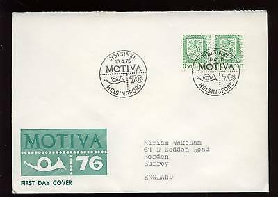 Finland 1976 Definitives FDC