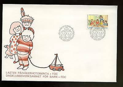 Finland 1988 Church Playgroups FDC