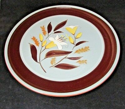 Golden Harvest by Stangl Chop Plate Round Platter