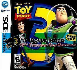 *NEW* DS TOY STORY 3 THE VIDEO GAME NINTENDO *SEALED*