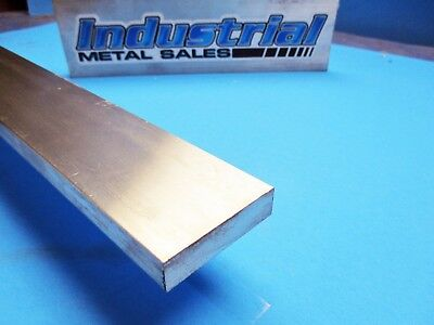 "1/2"" x 2"" 6061 T6511 Aluminum Flat Bar x 36""-Long-->.500"" x 2"" 6061 MILL STOCK"